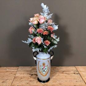 af8dc03f761b Ανθοδέσμη Λουλούδια Σομόν Τριαντάφυλλα   Χρυσάνθεμα