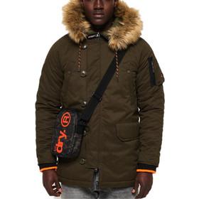 a3de907702f1 Ανδρικά Μπουφάν Superdry SDX Parka Mens Jackets   Coats Χακί M50008LR
