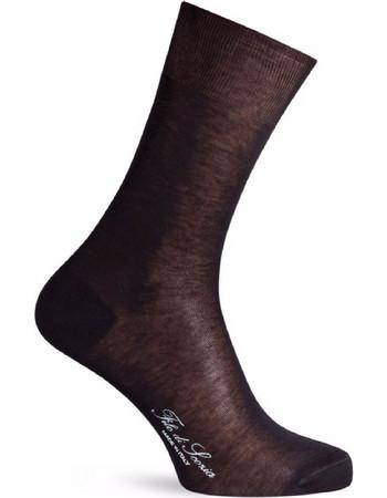 Ανδρική λεπτή κάλτσα Filo di scozia Μαύρη S.Tacchini SERGIO TACCHINI 16839165edc