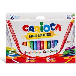 665f3554f4 Μαρκαδόροι CARIOCA STEREO MAGIC COLORS 20 τεμάχια
