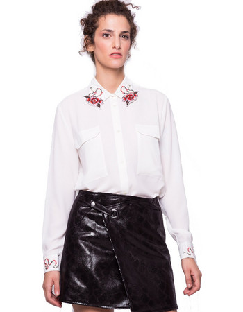 λευκο πουκαμισο γυναικειο - Γυναικεία Πουκάμισα (Σελίδα 10 ... 16e9080dc6e