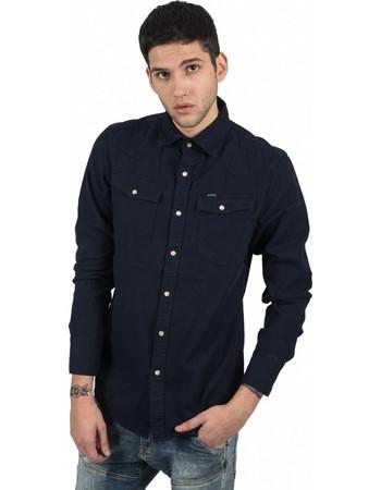 G-STAR RAW jean πουκάμισο D10140-7647-6067 μπλέ 70969e026e1
