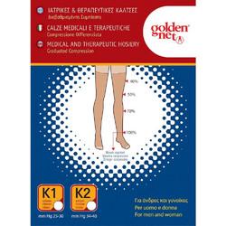GOLDEN NET Κάλτσες Διαβαθμισμένης Συμπίεσης Class 2 Κάτω Γόνατος 304 086cebcfa45