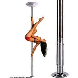 Στύλος Pole Dancing XPERT NX 45mm Set Chrome CR X-Pole FNX45CR