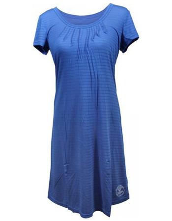 Γυναικείο Νυχτικό από Βισκόζη και Modal σε Μπλε ριγέ χρώμα 11314b498c7
