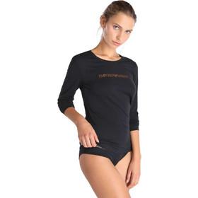 6861533dd39b T-shirt U neck Emporio Armani EA7 1633787A263 - μαύρο