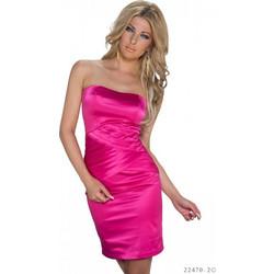 b5b00b6e71de Φόρεμα Σατέν Ροζ