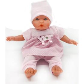D  Nenes Μωρό με Ροζ Φόρεμα   Πορτ Μπεμπέ 34cm 7836cf22d18