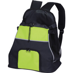Nobby Τσάντα Μεταφοράς Front Carrier Luis black - green 30x24x38cm 6b77c33c147