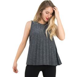 9efef8dfc8f5 Γυναικεία ασημί αμάνικη μπλούζα Lurex πλισε 80269S