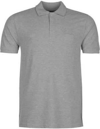 0767d87dfc3b Pierre Cardin Ανδρικό μπλουζάκι polo T-Shirt με κοντό μανίκι και κουμπιά σε  Γκρι Ανοιχτό
