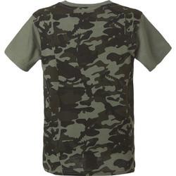 c1a780a58b4 T-shirt με τύπωμα παραλλαγής στο πίσω μέρος 13-219021-5 - Χακί