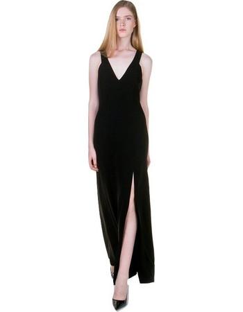 TOI MOI Μακρύ φόρεμα με σκίσιμο 50-3744-28 Τύπος L Toi   Moi 2574c97616b