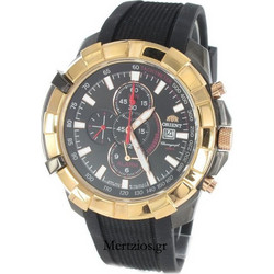5321ba3cf0 Orient Black Chronograph FTD10001B