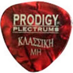 PRODIGY Plectrum Red Pearl Heavy Kλασσική (Σετ )