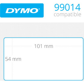 OEM DYMO Shipping Labels 54mm x 101mm 220 τεμ (99014)