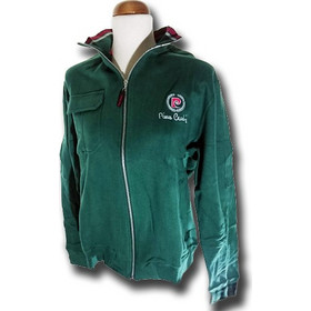 76274f3950e1 Ανδρική Ζακέτα Pierre Cardin σε Πράσινο Χρώμα με λογότυπο στο στήθος και  φερμουάρ