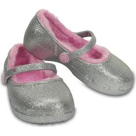 Παιδικές Μπαλαρίνες με επένδυση Crocs Karin Sparkle Lined Clog K 203514-040 e617d79817f