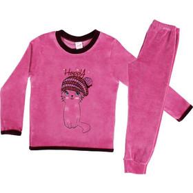 Βρεφική Πυτζάμα Velvet Happy Kitty Minerva Βιολετί 12-16 4a5432d761d