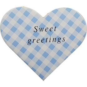 Ευχετήρια Κάρτα Σε Σχήμα Καρδιά Σε Διάφορα Σχέδια - Sweet Greetings 07e9861d0a2