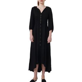 f39dace4de01 Ale Φόρεμα Ασύμμετρο Με Κουμπιά 81099770-BLACK