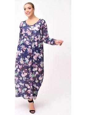 bdf0fa6825 Φόρεμα Θαλάσσης Navy Φλοράλ