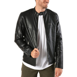 bc9373c3059e Emerson PU Fake Leather Jacket 172.EM16.01-Black