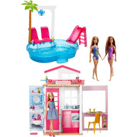 a12790672dc Barbie Buildup Value Pack-Σπίτι & Αξεσουάρ (FXN66)