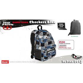 aa20416b8e Nicki No Fear Checker   Laptop Blue 5364