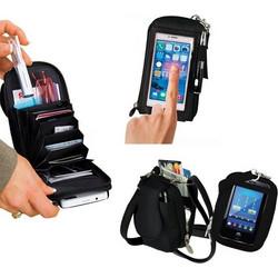 Τσαντάκι-Πορτοφόλι με Διάφανη Θήκη Οθόνης Αφής Smartphones OEΜ de0f28658e6