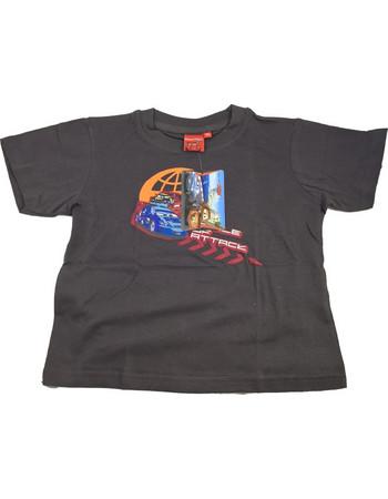 57f45c233f7 Disney 32127 Παιδικό Αγορίστικο Κοντομάνικο Μπλουζάκι Cars με Λαιμόκοψη σε  Καφέ χρώμα - Disney