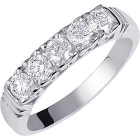 Λευκόχρυσο δαχτυλίδι σειρέ Κ18 με brillant DBR140A 897b929fede