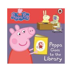 37f426f2fa Peppa Pig  Peppa Goes to the Library  My First Storybook