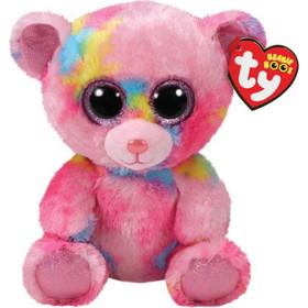 TY Beanie Boos Χνουδωτό Αρκουδάκι Ροζ Πολύχρωμο 15 εκ. 1607-36899 ad28fe5d3fe