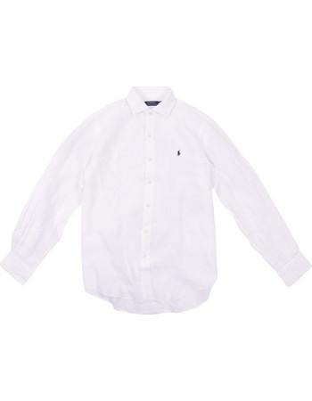 Polo Ralph Lauren Long Sleeve Sport Shirt 710-548534 Λευκό c373d2c6c76