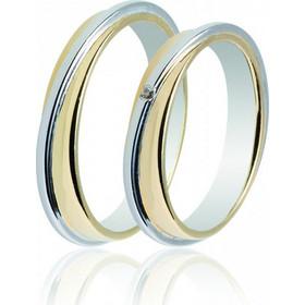 Βέρα TMF44 Celebrity Plus MASCHIO FEMMINA Χρυσή Λευκόχρυση Γυναικεία Ανδρική  Βέρα Για Γάμο  7dccd1027df