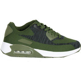 d229582ff54b Ανδρικά χακί αθλητικά παπούτσια με λευκό αερόσολα 2817L