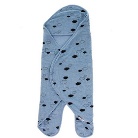 MINENE Velvet Wrap Πάνα- κουβέρτα αγκαλιάς για νεογέννητα blue astrology  51192 Minene 6e91ce0f368