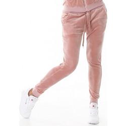 61110 LX Βελουτέ παντελόνι φόρμας - ρόζ απαλό ecb198679fb