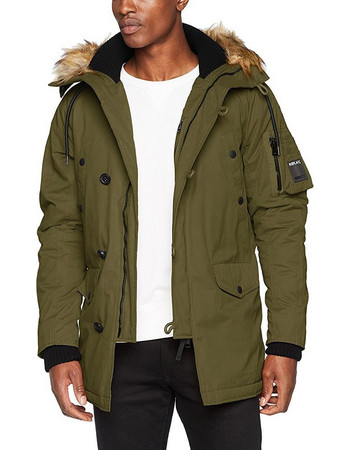 MΠΟΥΦΑΝ REPLAY M8869.000.82838 PARKA ΛΑΔΙ M886900082838-238 e508f710181