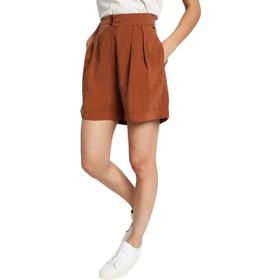 4ed2ee28eab7 Γυναικεία Σορτς Funky Buddha Σορτς Ψηλόμεσο Womens Shorts Ανοιχτό Καφέ  FBL110-03119