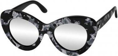 Le Specs Go Go Go Black Marble Silver  1578819685c