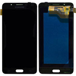 Genuine (Γνήσιo) Samsung SM-J510 Galaxy J5 (2016) lcd and touchpad in Black - Part no: GH97-18792B