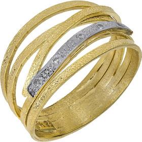 Δαχτυλίδι Κ14 με σχέδιο   ζιργκόν 027366 027366 Χρυσός 14 Καράτια 733338be2b2