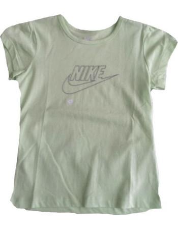 a46c3a345480 Παιδικά Κοντομάνικα Μπλουζάκια Nike Πράσινο