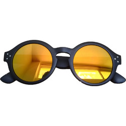 6bd56bd93d Unisex Γυαλιά Ηλίου με Πλαστικό Σκελετό Στρογγυλό