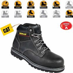 7a1557d8784 Παπούτσια Μποτάκια Ασφαλείας - Εργασίας Μαύρα Caterpillar Tracker SB-HRO-SRC