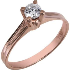 Μονόπετρο swarovski ροζ χρυσό Κ14 χειροποίητο 025856 025856 Χρυσός 14  Καράτια 2b20dd27fe7