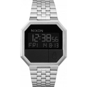 Nixon the Re-Run Digital Multifunction All Stainless Steel Bracelet A158-000-00