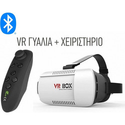 VR Box V4.0 With Bluetooth Controller